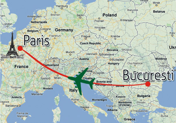 Paris, Sejur