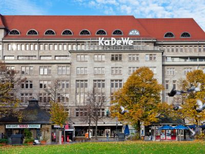 Berlin shopping Magazin KaDeWe