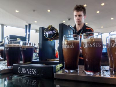 Dublin Guinness Gravity Bar