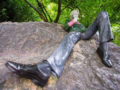 Dublin Merrion square Oscar Wilde
