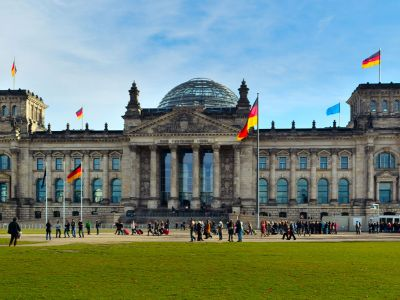 Berlin Parlament Germania