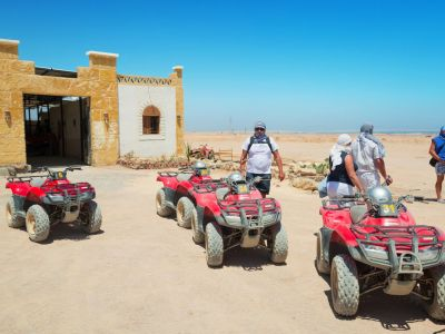 Hurghada Safari in desert