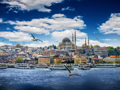 Istanbul vedere Bosfor