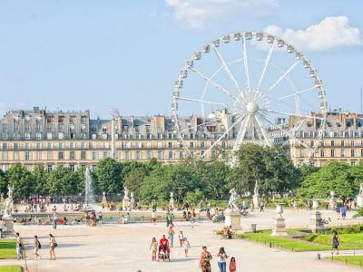 Musee National D'Orsay, Gradinile Tuileries,