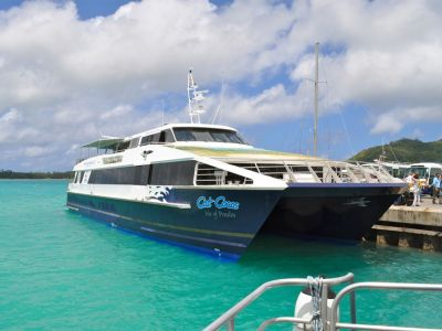 Seychelles ferry boat Cat Cocos