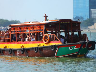 Singapore croaziera bumboat