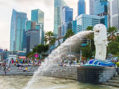 Singapore Statuie Merlion