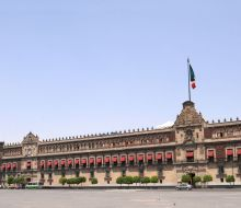 Mexico City-Palatul National (Palacio Nacional)