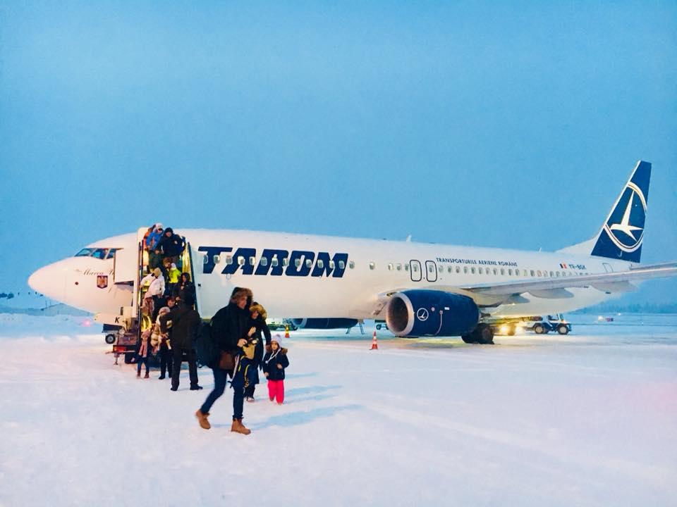 Am aterizat la Rovaniemi