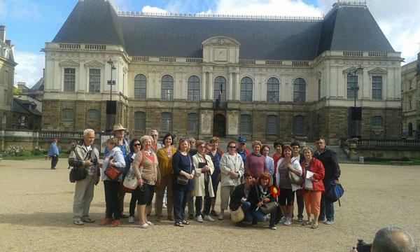 Franta Parlamentul Bretaniei Rennes