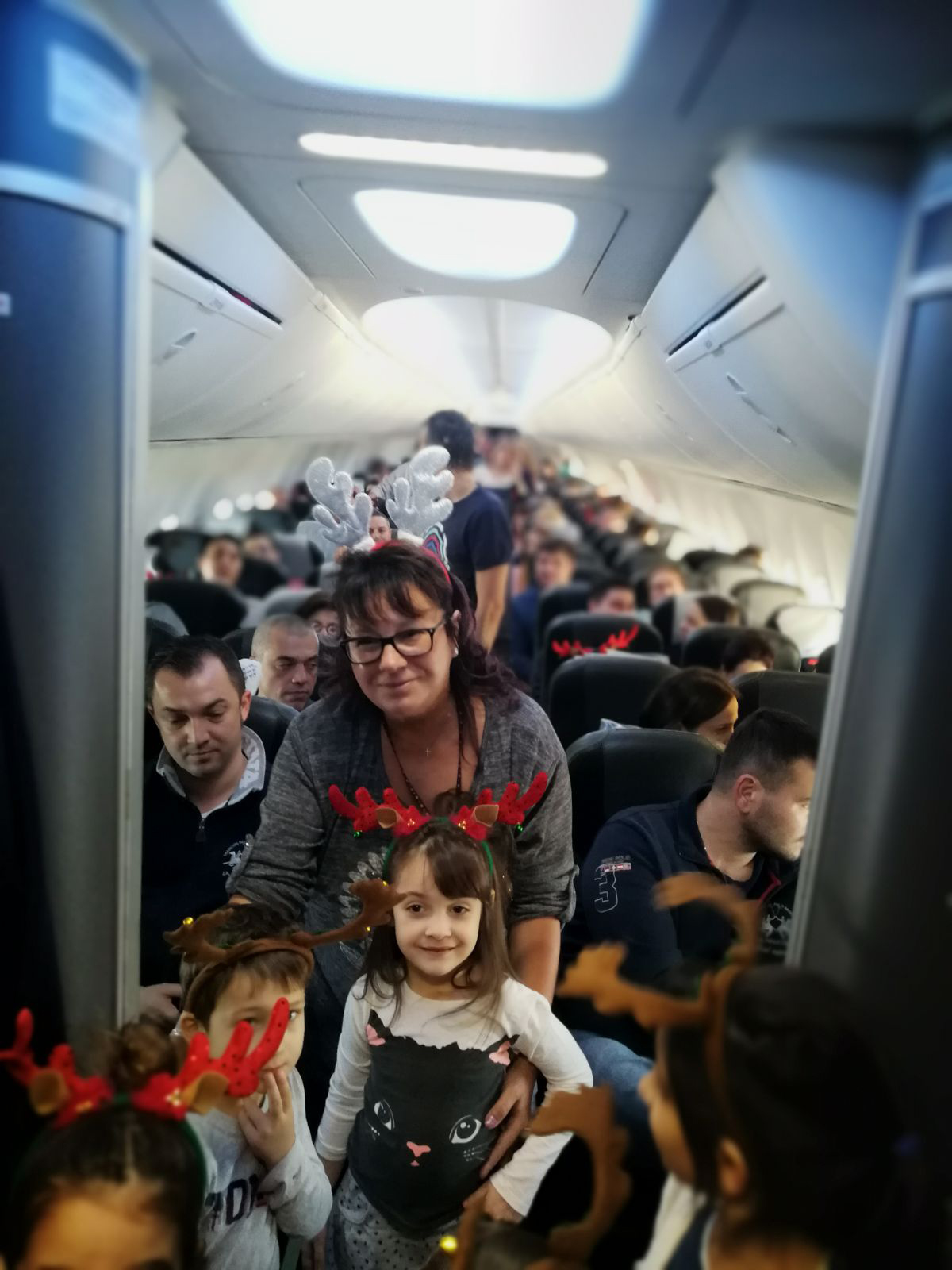 In avion la dus