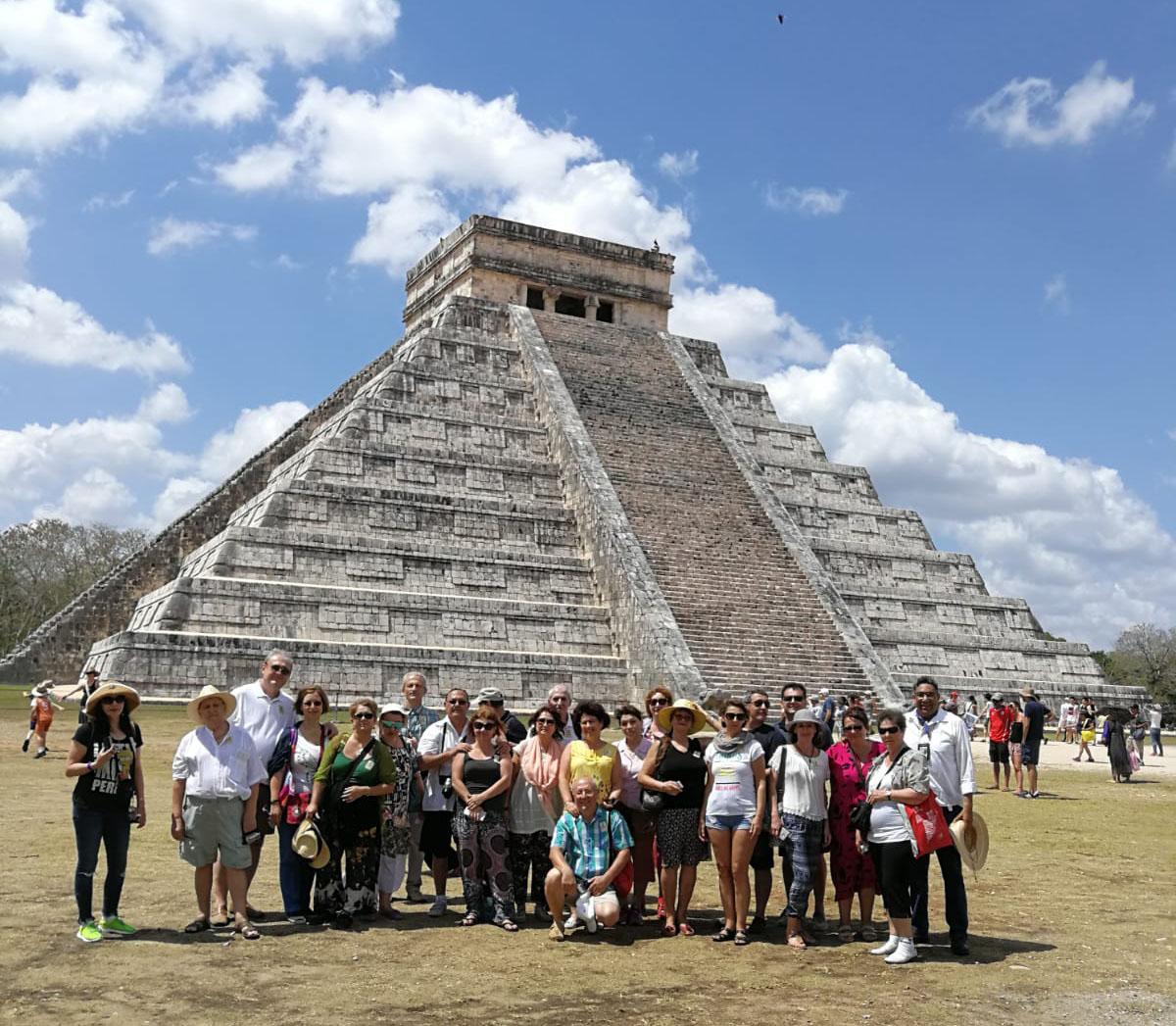Mexic Chichen Itza Piramida Kukulkan