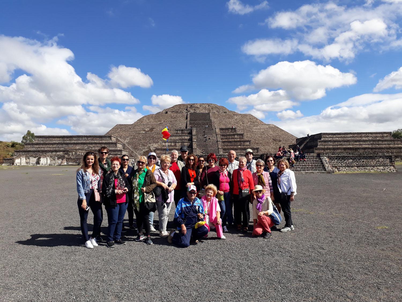 Mexic Teotihuacan Piramida Lunii