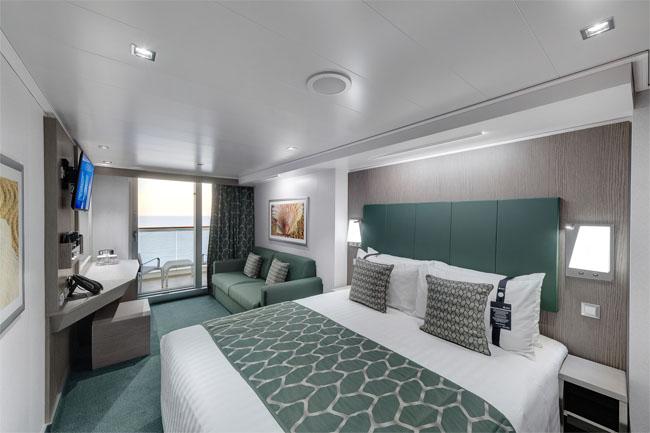 MSC Seaview cabina cu balcon