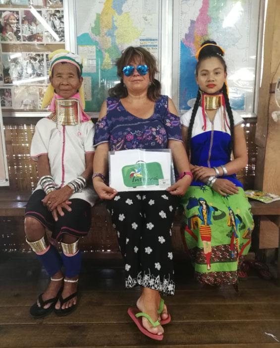Myanmar tribul Padaung