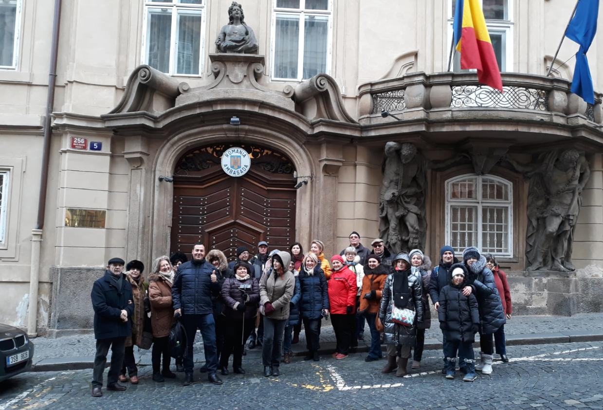 Praga Ambasada Romaniei