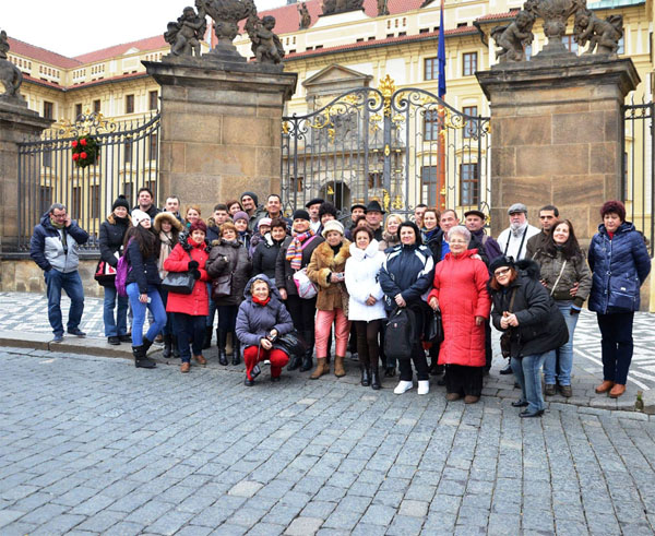 Praga Piata Craciun