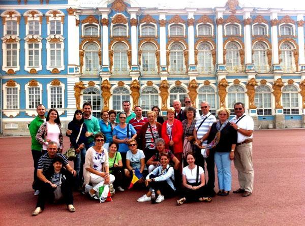 Rusia, Puskin, Palat Ekaterina