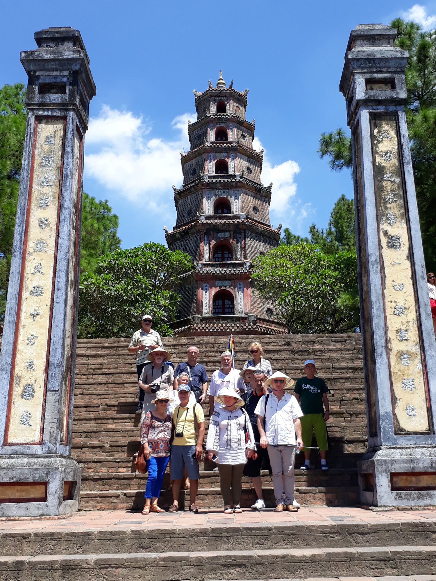 Vietnam Hue Pagoda Doamnei din Paradis
