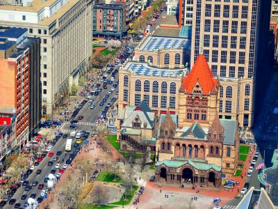 Copley Square, Government Center si Newbury Street, Quincy Market, Prudential Tower si altele.