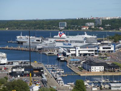 Estonia Tallinn Port