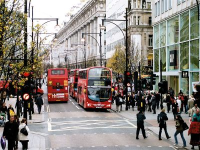Londra shopping Oxford Street