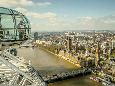 Londra panorama din London Eye