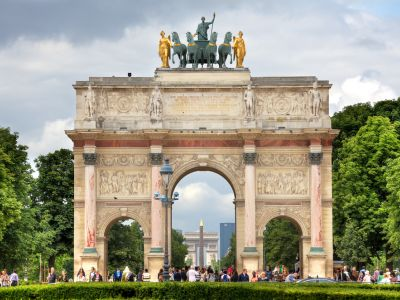 Paris Arc de triumf carusel