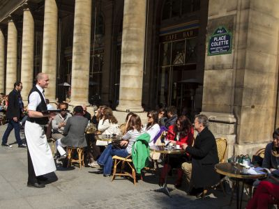 Paris Cafe Marly Louvre
