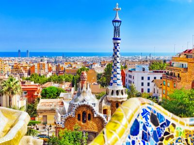 Barcelona Parcul Guell