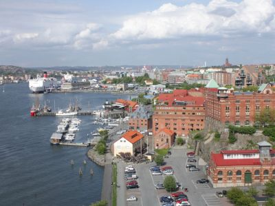 Goteborg panorama port