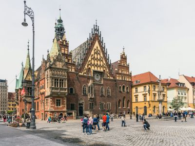 Wroclaw vechea Primarie