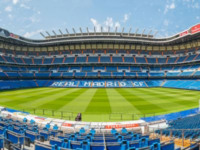 Madrid stadion Santiago Bernabeu Real Madrid
