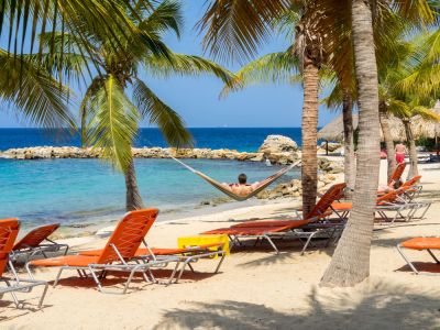 Curacao Blue Bay beach