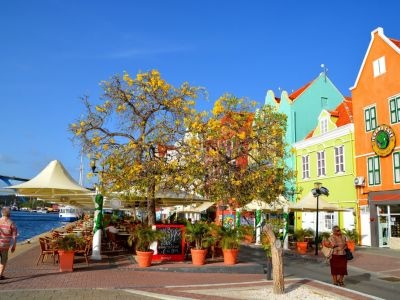 Curacao Willemstad case traditionale olandeze