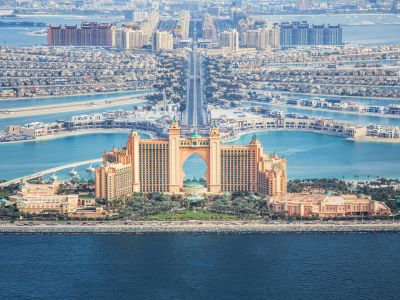 Vom face apoi un stop fotografic la Atlantis The Palm