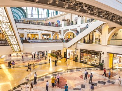 si apoi timp liber la Mall of Emirates