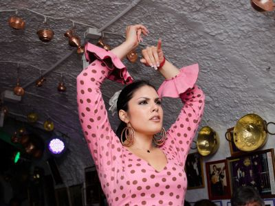 Seara, optional, spectacol de flamenco in Sacromonte.