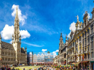 Tur panoramic de oras Bruxelles: Grand Place,