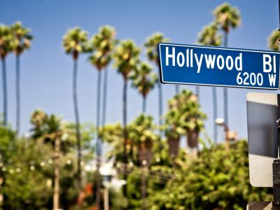 bulevardul Hollywood-ian